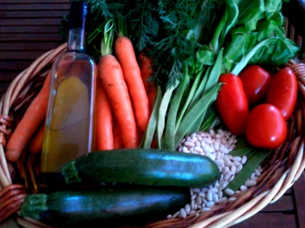 verduras huerto Las Trojes, verduras ecológicas, huerto ecológico, pote de Las Trojes,huerta de Tamajón