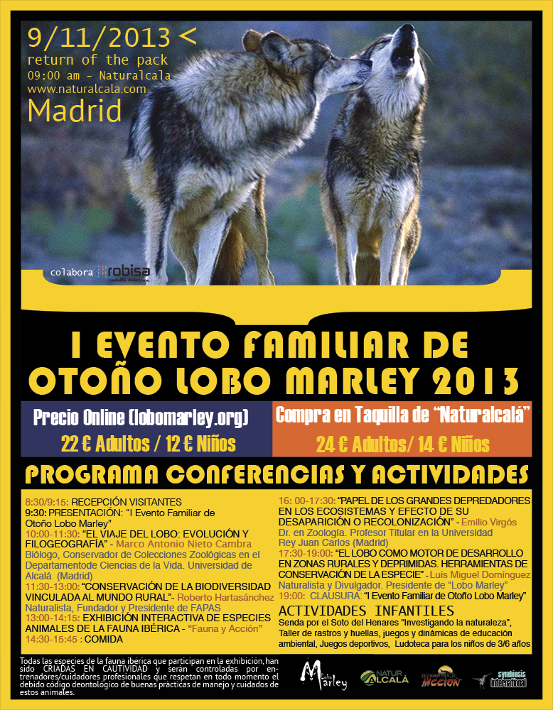 EVENTO FAMILIAR DE OTOÑO LOBO MARLEY
