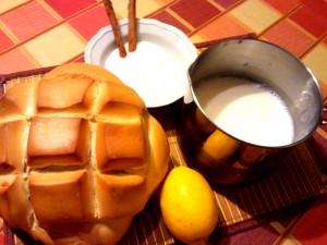 ingredientes para hacer torrijas de leche