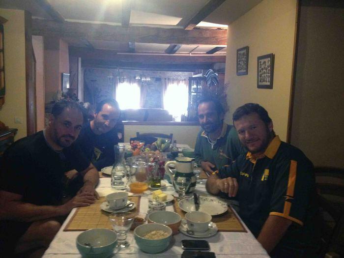 desayuno en Las Trojes